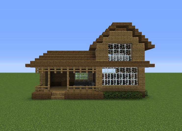 Wooden house 16 grabcraft your number one source for for Best wood for building a house