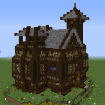 Rustic Town Hall Grabcraft Your Number One Source For