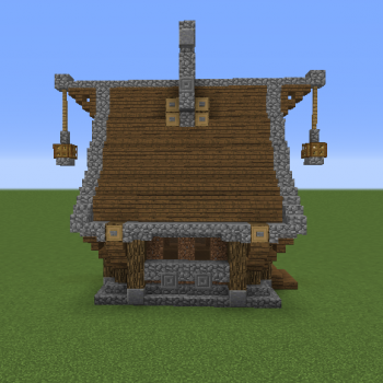 Minecraft wooden house blueprints image information simple medieval house grabcraft your number one source minecraft wooden house workwithnaturefo