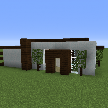 Simple Survival Modern House Grabcraft Your Number One