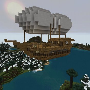The Wind Reaper (Small Airship) - GrabCraft - Your number ...