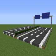 3 Lane Highway & Signalisation