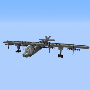Aerial Gunship with a Working TNT Cannon