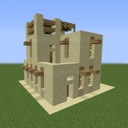 Arabic Desert Unfurnished House 1