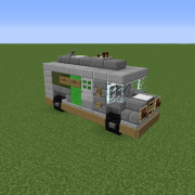 how to build a moving car in minecraft pc