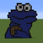 Cookie Monster Statue