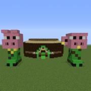 Creeper Pig Farm