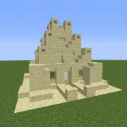 Desert Sandstone House