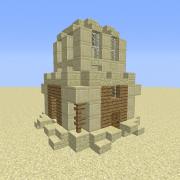 Desert Sandstone Small House 1
