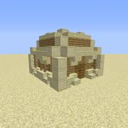 Desert Sandstone Small House 2