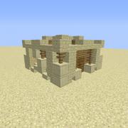 Desert Sandstone Small House 3