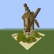 Desert Village Windmill