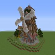 Detailed Fantasy Windmill