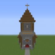 Detailed Medieval Church