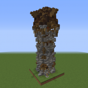 Detailed Medieval Guard Tower