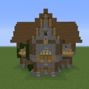 Detailed Medieval House