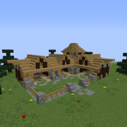 Detailed Medieval Stables