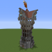 Detailed Medieval Tower