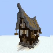 Detailed Nordic House 3