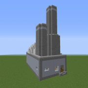 Dystopian Nuclear Power Station