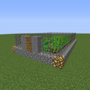 Dystopian Village Farm