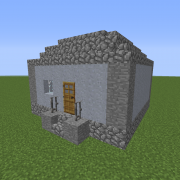 Dystopian Village House 1