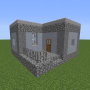 Dystopian Village House 2
