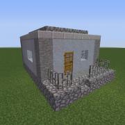 Dystopian Village House 3