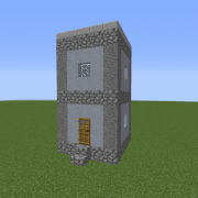 Dystopian Village Hut 1
