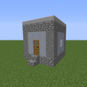 Dystopian Village Hut 2