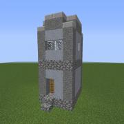 Dystopian Village Hut 3