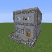 Dystopian Village Police Station