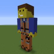Emmet Statue (The Lego Movie)