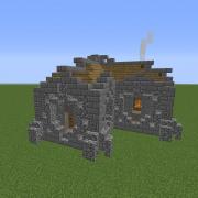 Fantasy Dwarven Small House 2