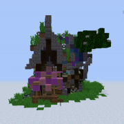 Fantasy Elven Small House and Shop