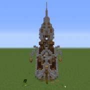 Fantasy Hobbit Tower