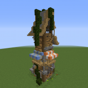 Fantasy Hut Tower