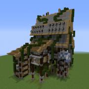 Fantasy Overgrown House 10