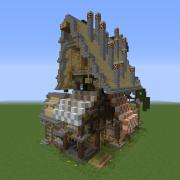 Fantasy Overgrown House 11