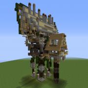 Fantasy Overgrown House 6