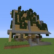 Fantasy Overgrown House 7