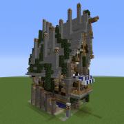 Fantasy Overgrown House 8