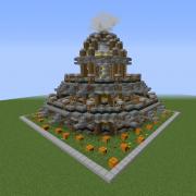 Fantasy Steampunk Tower