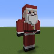Fat Santa Statue