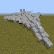 Fighter Jet with Cannons 1