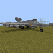 Fighter Jet with Cannons 2