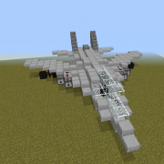 Fighter Jet with Working Cannons 1