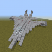 Fighter Jet with Working Cannons 2