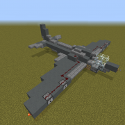 Fighter Jet with Working Cannons 3