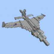 Fighter Jet with Working TNT Cannons 1
